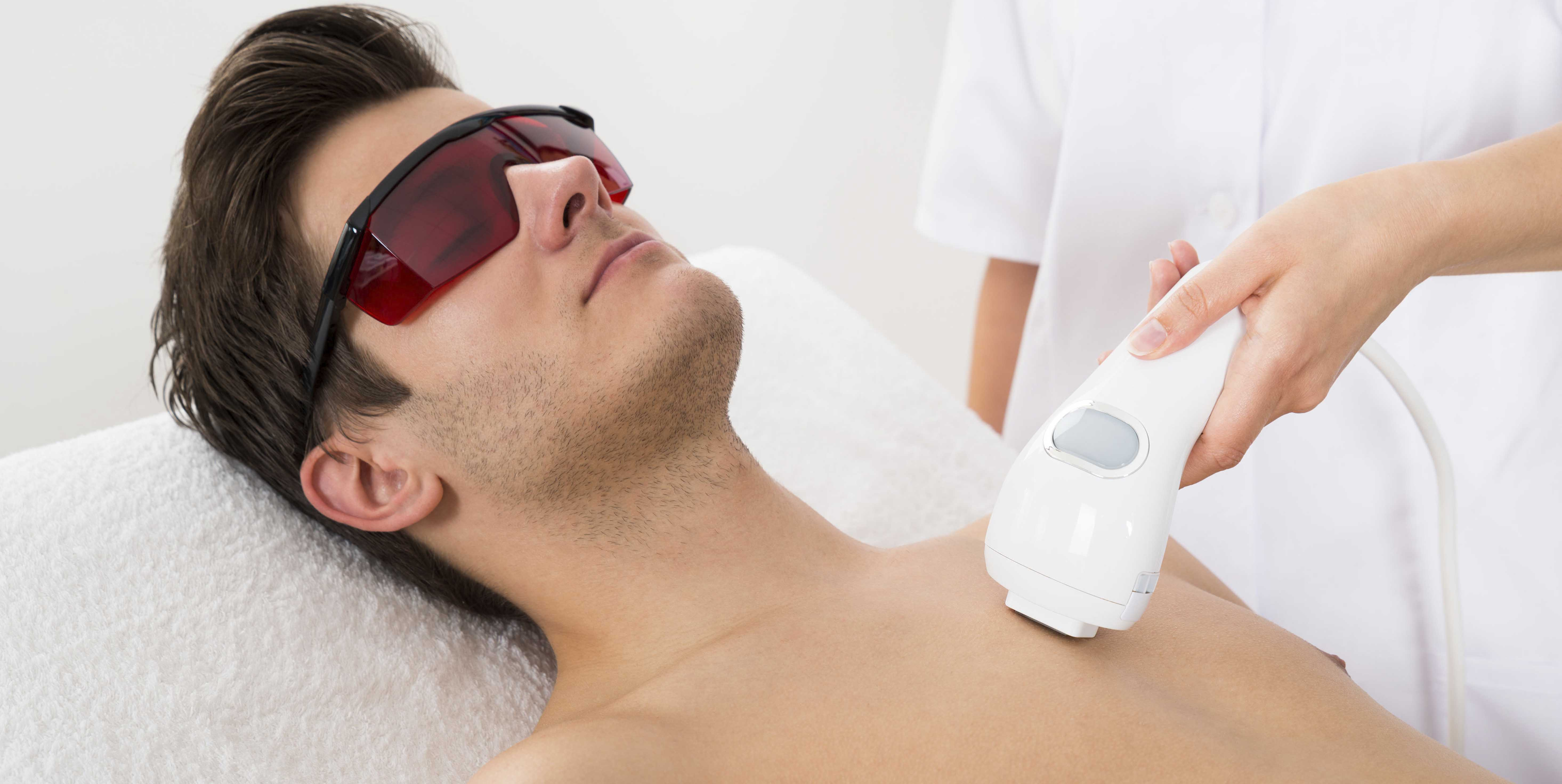 Male hair removal with best device